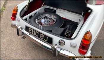 MGB Roadster Automatic full